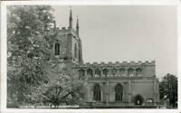 REAL PHOTO POSTCARD HORBLING CHURCH BILLINGBOROUGH (NEAR GRANTHAM), LINCOLNSHIRE