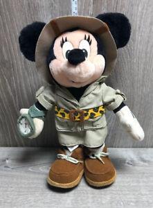 """Disney Safari Minnie Mouse 12"""" Plush"""