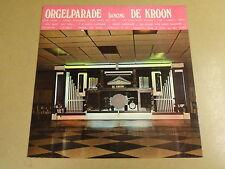 LP DECAP ORGEL / ORGELPARADE DANCING DE KROON