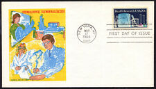 2087 Health Research stamp FDC Doris Gold Cachets