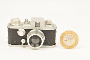 Kiku 16 Model II Subminiature 16mm Film Camera With Case