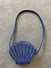 Next Girls Mermaid Handbag Shoulder Bag Blue Shell