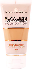 Face of Australia Flawless Light Diffusing Foundation, Tan 40mL