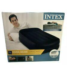 Intex Dura-Beam 42cm cama colchón INDIVIDUAL HINCHABLE bomba incorporada 👀 Gratis P&P.