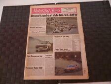 MOTORING NEWS 13 APRIL 1978 BRUNO GIACOMELLI, MALCOLM WILSON, ASTON MARTIN