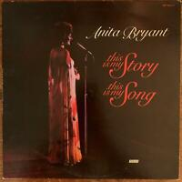 ANITA BRYANT THIS IS MY STORY THIS IS MY SONG VINYL LP WORD RECORDS EXCELLENT