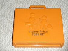 1977 FISHER PRICE TOOL SET #924    FOR REPLACEMENT PARTS--NON WORKING DRILL