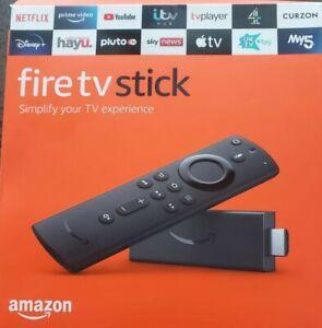 Amazon Fire TV Stick (3rd Gen) with 3rd Gen Alexa Voice Remote - Black