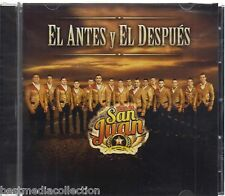 SEALED - La Poderosa Banda San Juan CD NEW El Antes y El Despues BRAND NEW