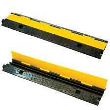 2 Channel 1m Rubber Cable Guard Bridge Protector Load Event Safety Vehicle Ramp
