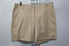 923X04 CHAMPION L7070 Women's Authentic Outdoor Shorts Size 14 Khaki
