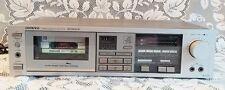 Vintage Onkyo TA2033 Stereo Cassette Tape Deck Recorder Receiver Rare Silver