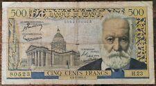 Billets 500 francs VICTOR HUGO 4 - 3 - 1954 France H.23