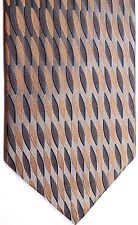"Roberto Villini Men's Silk Tie 59"" X 4"" Multi-Color Geometric"