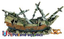 Aquarium Sail Ship Fish Tank Ornament Extra Large 83cm