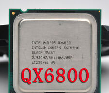 Intel Core 2 Extreme QX6800 2.93GHz LGA 775 SL9UK SLACP 4-Core 8M 130W Processor
