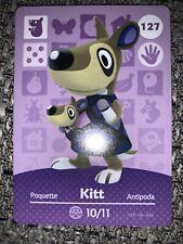 Animal Crossing Amiibo-Karte Serie 2/Nr. 127 - Kerstin/Kitt