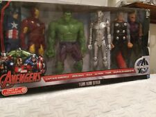 Marvel Avengers Target EXCLUSIVE  6pk Captain America Iron Man Hulk Ultron Thor