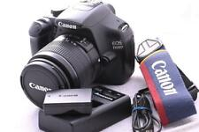 Canon 1100D DSLR Camera LOW SHUTTER COUNT 18-55mm Lens GREAT CONDITION