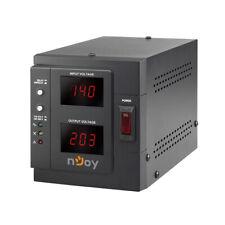 Stabilizzatore di tensione 1000va Filtro AVR Display Digitale 800w Njoy Akin
