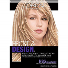 L'Oreal Paris Frost and Design Cap Hair Highlights For Long Hair, H85 Champagne,