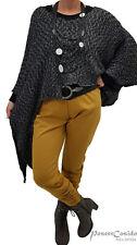 LAGENLOOK Raff-Leggins Treggins Hose curry 44 46 48 50 52 54 56 58 L-XL-XXL-XXXL