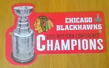 Chicago Blackhawks NHL 2015 STANLEY CUP Conferenza Occidentale CHAMPIONS 1ft segno