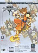 "Kingdon Hearts Chain Of Memories ""Gameboy Advance"" 2005 Magazine Advert #4814"