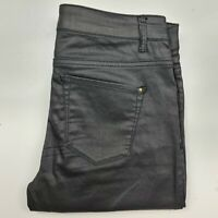 Country Road Size 6 Black Wet Look Jeans Women's - GH1L