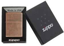 Zippo Antique Copper Lighter New