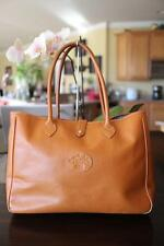 COMPTOIR SUD PACIFIQUE brown pebbled leather large tote bag (p300)