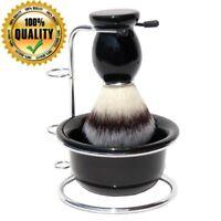 Wood Shaving Brush Bowl Tool Men Professional Barber Holder Facial Beard Set Kit