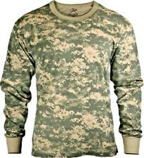 Rothco Military Digital Tactical Hunting Long Sleeve Camo T-Shirts Combat