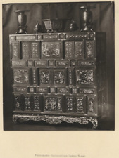 Mobilier, Gabriel Blaise  Vintage albumen print Photoglyptie  16x18  Circa