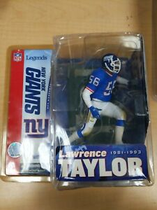 McFarlane Sports Picks N.Y. Giants Lawrence Taylor Figure NEW condition issues