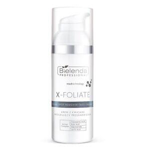 Bielenda Professional X-Foliate Acid Face Cream Reducing Discolorations 50 ml