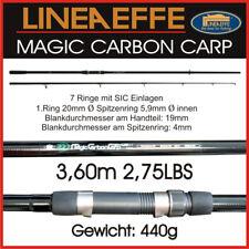 Lineaeffe Magic Carbon Karpfen Rute Karpfenrute Carp Rod 2tl 3 60m 2 75lbs Ava