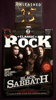 Classic Rock Magazine+CD Black Sabbath Special Edition Final Interview Issue 186