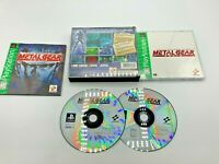 Sony PlayStation 1 PS1 CIB Complete Tested Metal Gear Solid Ships Fast