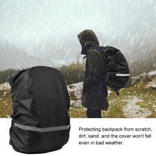 Backpack Rain Cover Waterproof Rucksack Reflective Strip Covers F. Hiking Travel