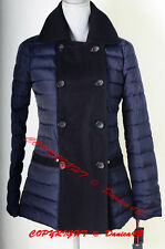 Tommy Hilfiger Women's Quilted Double Breasted Jacket Trench Coat XS Navy