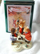 VILLEROY & AND BOCH ~ FOXWOOD TALES ~ CAROL SINGERS ~ HEAVENLY VOICES ~ LT ED