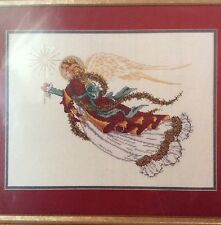 "Christmas Angel Cross Stitch Kit 06-02 Janlynn 16"" X 12""  14 Count New"
