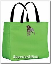 German Wirehaired Pointer essential tote bag Any Color