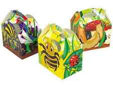 NEW BUGS PARTY TREAT BOXES TWO DESIGNS LEFT ONLY  (12)
