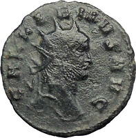 GALLIENUS son of Valerian I Authentic Ancient Roman Coin Antelope  i29000