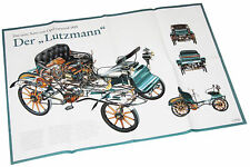 Poster Opel Lutzmann 1899 Beilage Opel Start 1980er J. Auto PKWs Oldtimer Europa