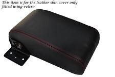 RED STITCH FITS MITSUBISHI L200 WARRIOR K741998-2005 REAR ARMREST LTHR COVER