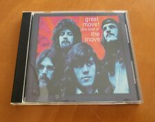 "THE MOVE ""Great Move: Best of the Move"" CD ELO Jeff Lynne Roy Wood RARE OOP"