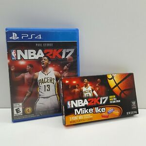 NBA 2K17 (SONY PLAYSTATION 4) WITH GENUINE CANDIES (LOOK DESCRIPTION) S2100